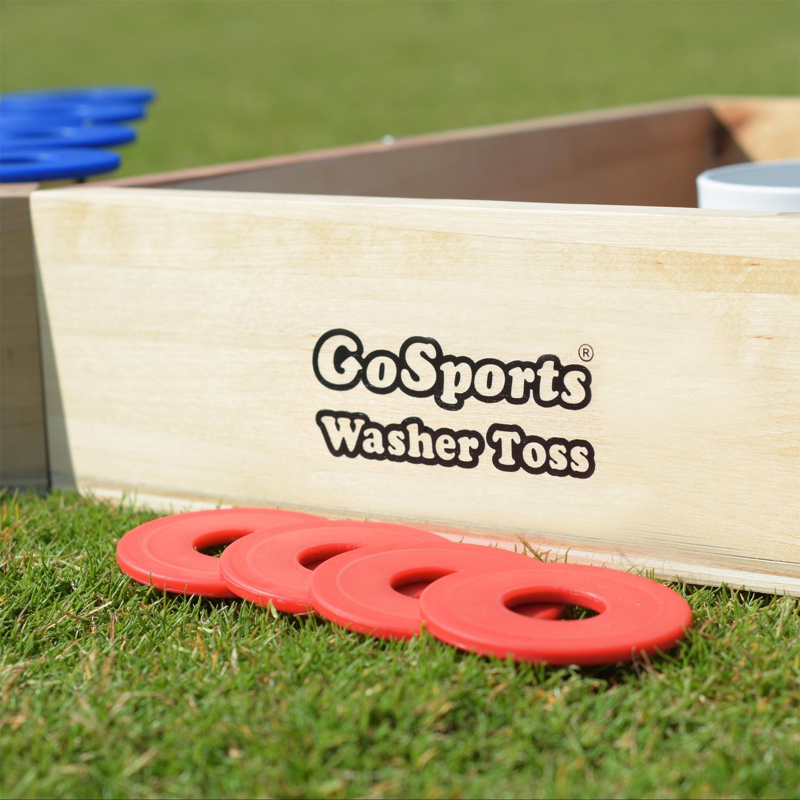 gosports premium birch wood washer toss game games amazon canada