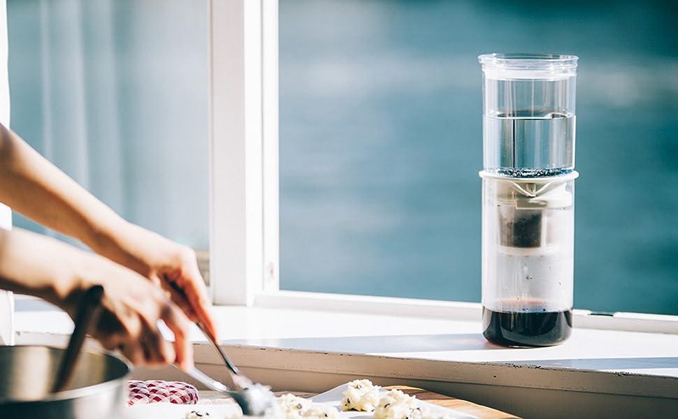 ハリオ HARIO はりお 水だし 珈琲 コーヒー アイスコーヒー 滴下式