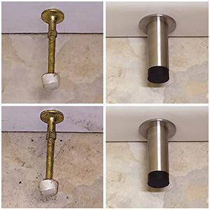 patio door stopper funky door stops door limiter front door stopper door stop hardware door mounted