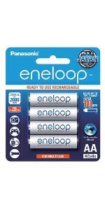 AA Eneloop Rechargeable Batteries