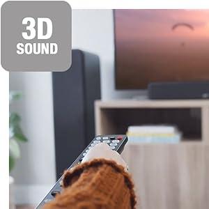 Denon AVR-S960H 3D sound