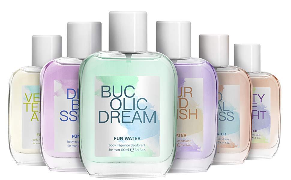 Fun Water Velvet Temptation - Desodorante para mujer (100 ml, pack de 2): Amazon.es: Belleza