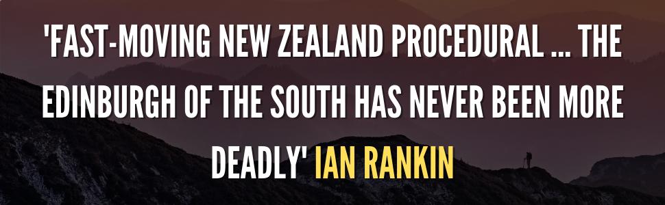 Ian Rankin jacket quote - pre-publication