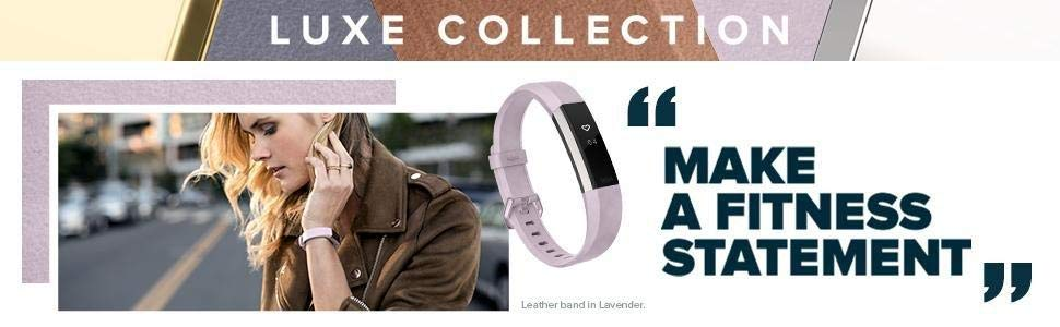 Luxe Collection Fitbit Alta HR Accessory Bands
