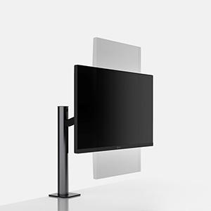 LG-display in staand formaat draaibaar
