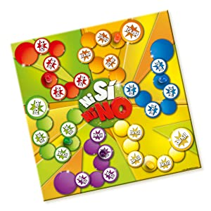 Lúdilo-678401 Ni si ni no (lúdico) juego de mesa para niños, multicolor, 32.5 x 25.7 x 6.1 (678401): Amazon.es: Juguetes y juegos