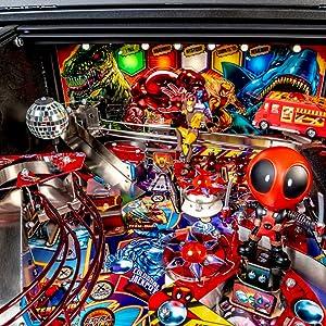 Stern Pinball Deadpool Arcade Pinball Machine, Premium Edition