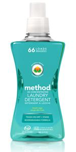 method 4x concentrated laundry detergent