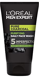 L'Oréal Men Expert, Pure Charcoal, Daily Face Wash, Purifying Charcoal