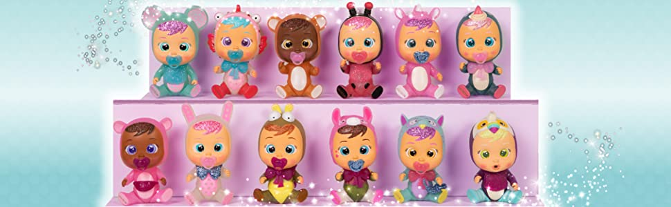 colección bebés llorones fantasy