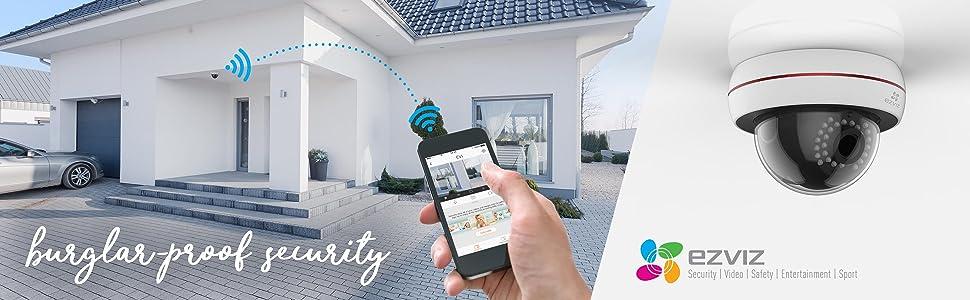 wifi cámara clasificación IP66; 720p; HD; 2MP; 2 Megipixel;IK10;