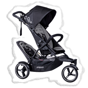 compact double lightweight stroller