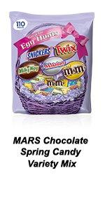 MARS Chocolate Variety Mix is great for plastic egg stuffers for your Easter hunt.