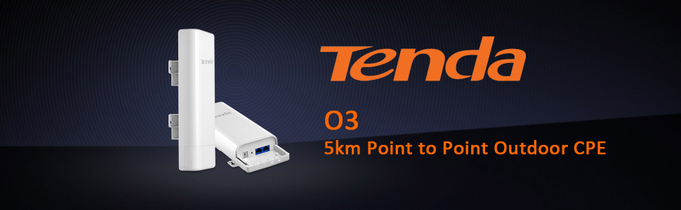 O3 Wireless / 5km Point to Point Outdoor CPE