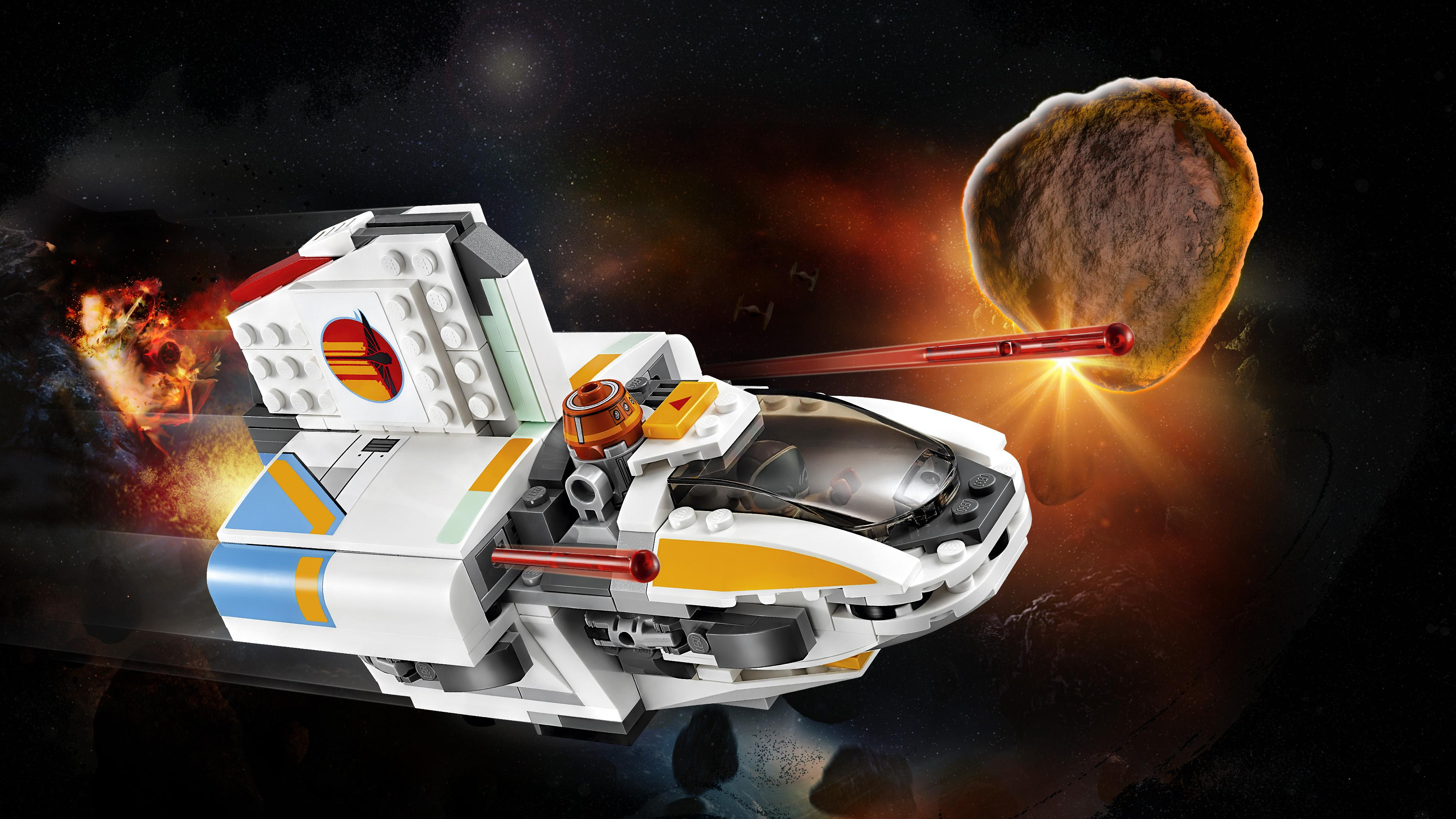 lego star wars the phantom 75170 building kit 269 pieces toys games. Black Bedroom Furniture Sets. Home Design Ideas
