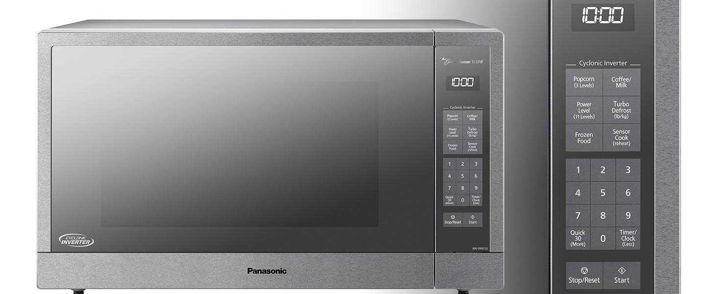 Amazon.com: Panasonic NN-SN97JS - Horno para microondas, 2,2 ...