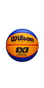 Wilson WTB0533XB Pelota de Baloncesto Fiba 3x3 Replica Caucho ...