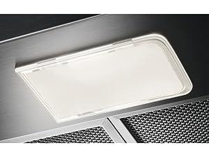 Zanussi ZHC72462XA Campana extractora extraíble, 70 cm, 3 velocidades, Acero Inoxidable, Potencia hasta de 420 m3/h, Nivel de ruido 62 dB(A), Iluminación LED, Inox, Clase D: Amazon.es: Grandes electrodomésticos