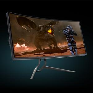 Acer Predator X38p Ips Zero Frame Monitor Computers Accessories