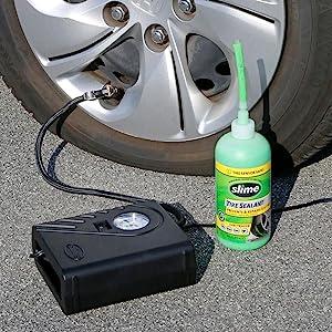 flat tire repair, tire inflator