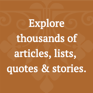 articles, lists, quotes, stories