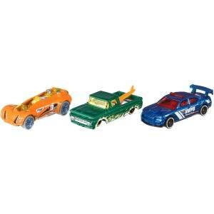 Hot Wheels Pack de 3 vehículos, coches de juguete (modelos ...