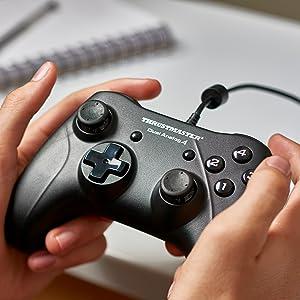 thrustmaster, gamepad, dual analog 4, gamepad pc, videojuegos pc