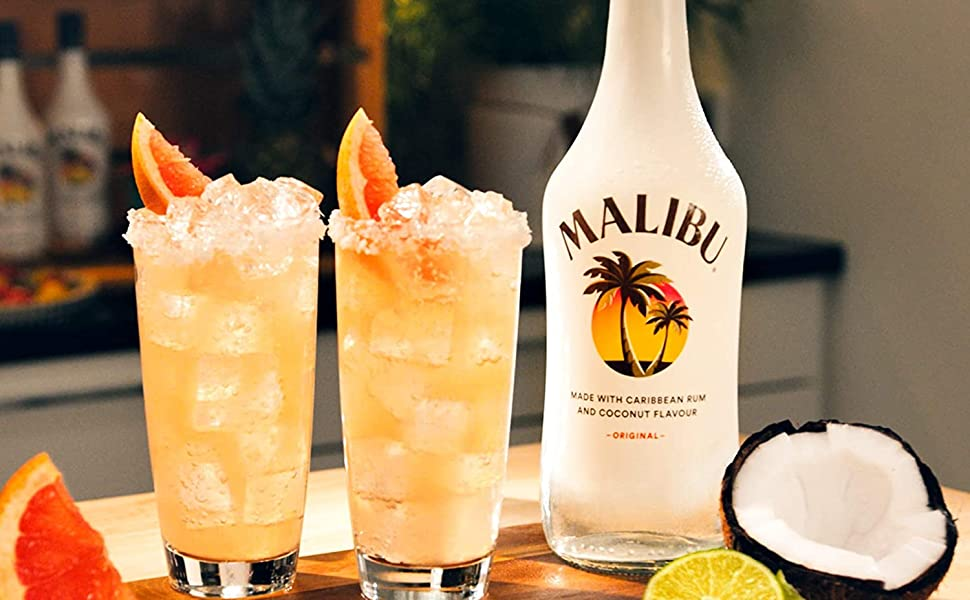 Malibu Rum Coconut Flavour