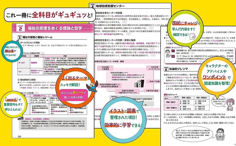社会 試験 参考書 テキスト 社会福祉士 国家試験 わかりやすい 合格