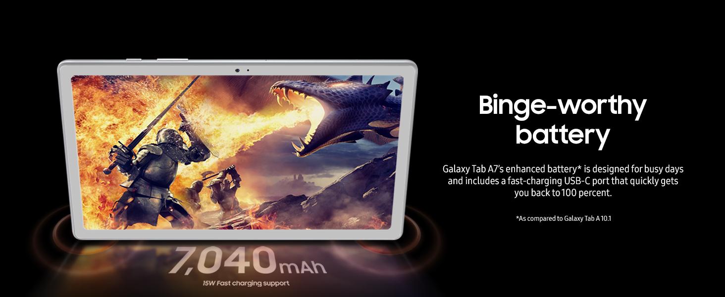 Samsung Galaxy Tab A7 - Black