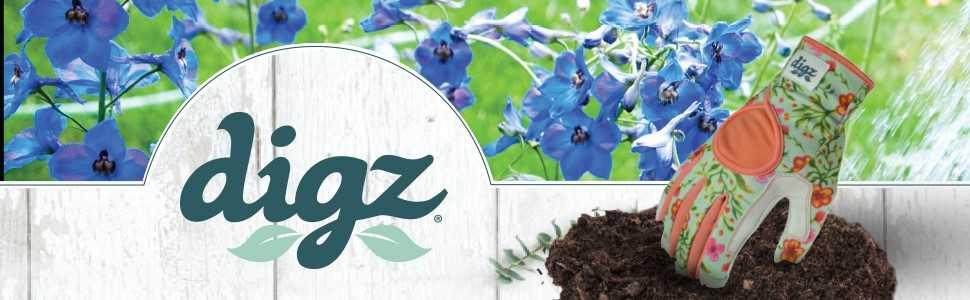 Digz garden gloves, gardening gloves, garden gloves, womens work gloves, planter gloves, Work Gloves