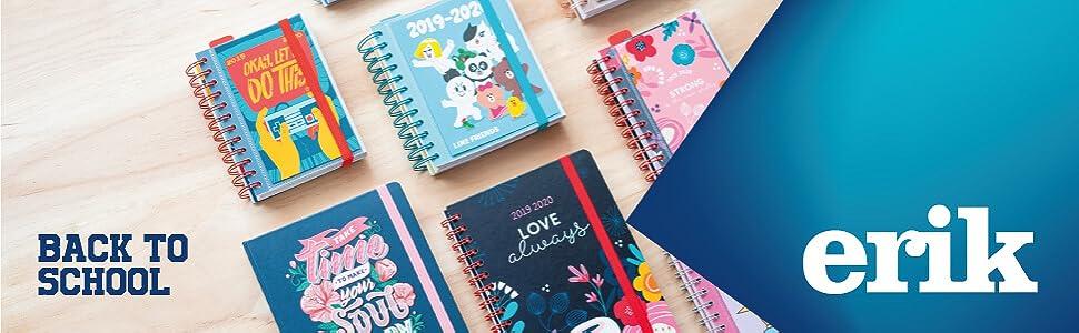 Agenda escolar 2019/2020 día página M Glitter: Amazon.es: Oficina ...