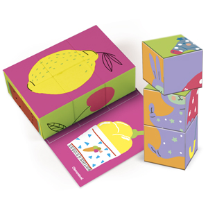 Clementoni - Juego de cartas «Little Cube»