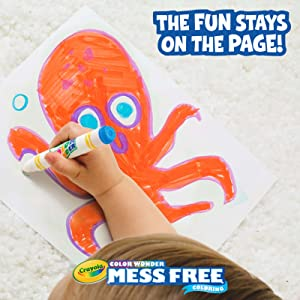 color wonder, mess free, crayola color wonder, crayola mess free, crayola mess free coloring
