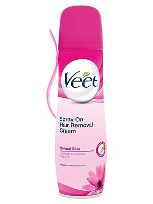 Veet Spray On Hair Removal Cream For Normal Skin 150 Ml Amazon