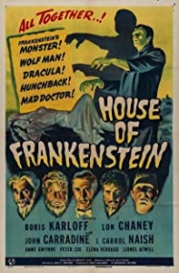 House of Frankenstein, Classic Monsters, Legacy, Bela Lugosi, Hollywood Horror, box set, collections