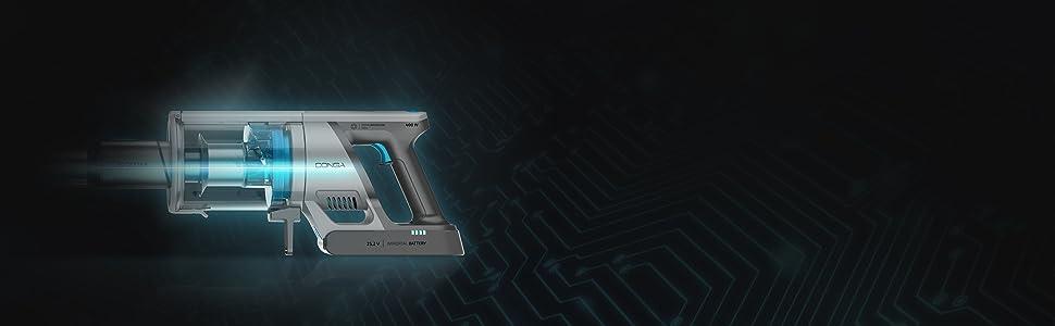 Cecotec Aspirador Vertical Conga Rockstar 600 Hero - Aspirador sin ...