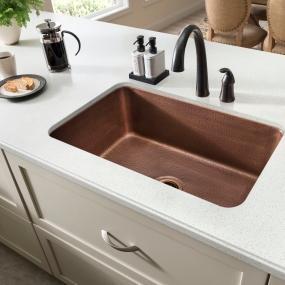 copper, sink, sinkology, kitchen, undermount, orwell, SK202 30AC