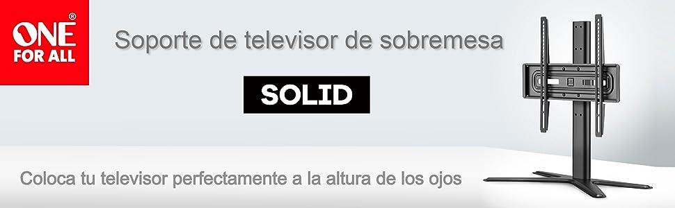 Soporte sobremesa de televisión One For All - Tamaños de Pantalla ...