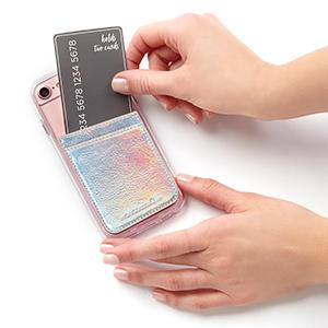 quality design a0dd4 83640 Case-Mate - Stick On Credit Card Wallet - POCKETS - Ultra-slim Card Holder  - Universal fit - Apple – iPhone – Samsung – Galaxy - and more – ...