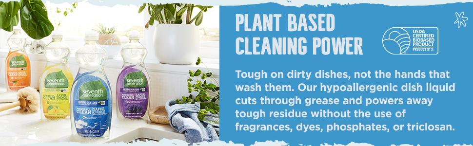 plant based dish soap, plant based, dish liquid, all natural, natural hand dish soap