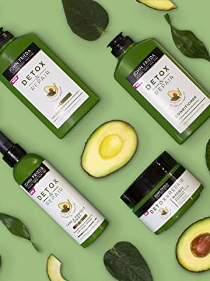 John Frieda, Detox Repair, Avocado, Green Tea