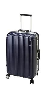 [BERMAS バーマス] スーツケース フレーム プレステージ2 双輪 4輪 60265 52L 58 cm 4.1kg