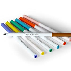 Crayola; Markers; Coloured; Textas; Drawing; Colouring; Coloured Markers; kids; craft; art; school