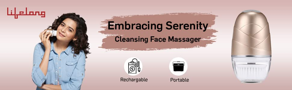 Face Massager, Face Cleanser, Facial Device, Skin Care, Personal Care,