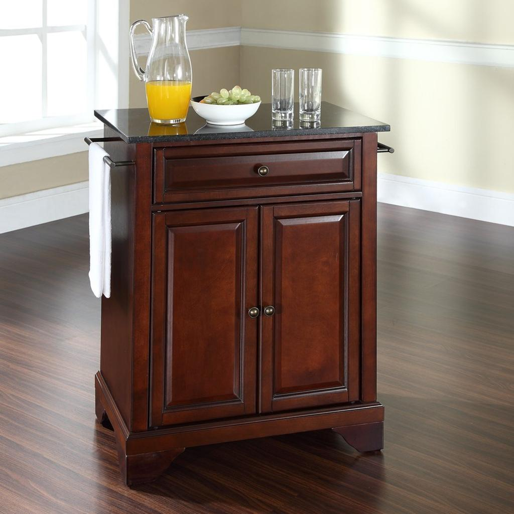 Kitchen Island With Granite Top: Crosley Furniture Cuisine Kitchen Island With