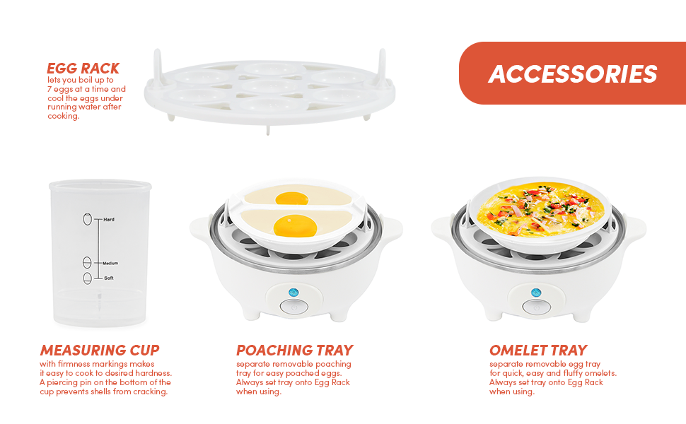 accessories eggs cooker omelet rack poaching measuring cup