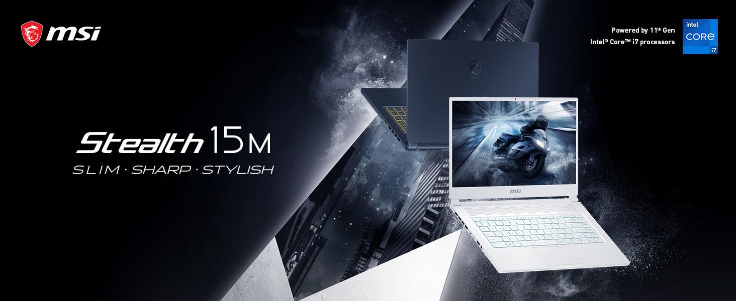 "Amazon.com: MSI Stealth 15M A11SEK-062 15.6"" FHD 144Hz Thin Bezel Gaming Laptop Intel Core i7-1185G7 NVIDIA GeForce RTX2060 Max-Q VR Ready 16GB 512GB NVMe SSD Win10 VR Ready, Carbon Gray: Computers &"