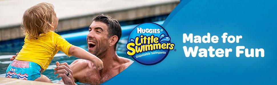 Huggies Little Swimmers, best-selling swim diapers, swimpants, Phelps
