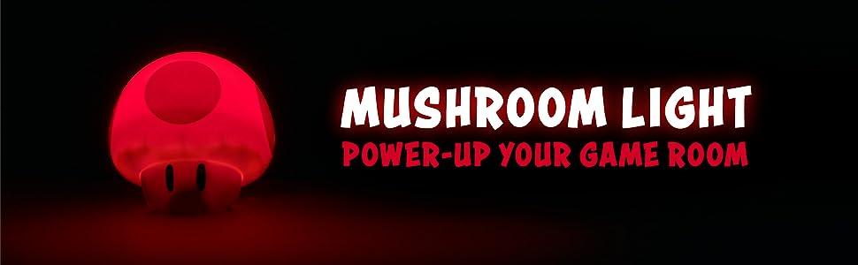 Mushroom Light, Power-up your game room